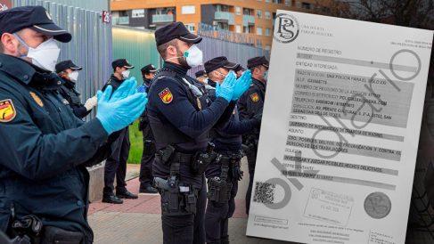 Demanda policía