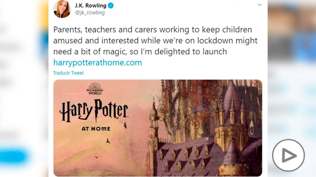 Nueva web de Harry Potter.