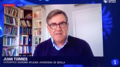 El economista Juan Torres López, que asesoró a Podemos en 2014 en la elaboración de su programa económico.