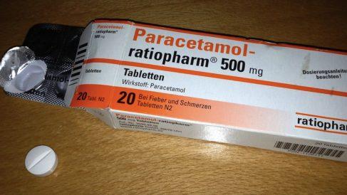 Pastillas de paracetamol.
