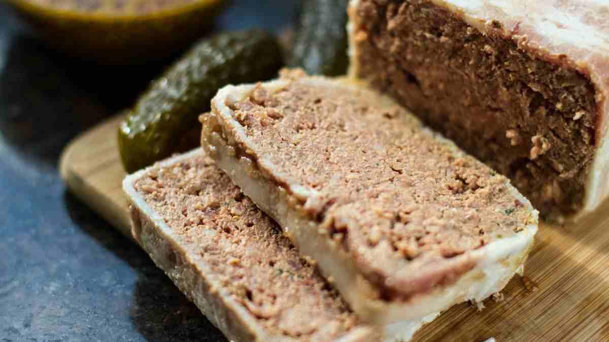 Receta de Paté vegano de champiñones y frutos secos