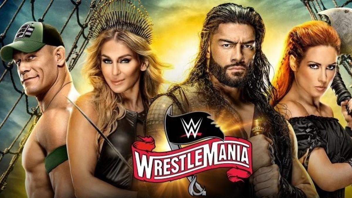 Cartel de Wrestlemania 36 (WWE).