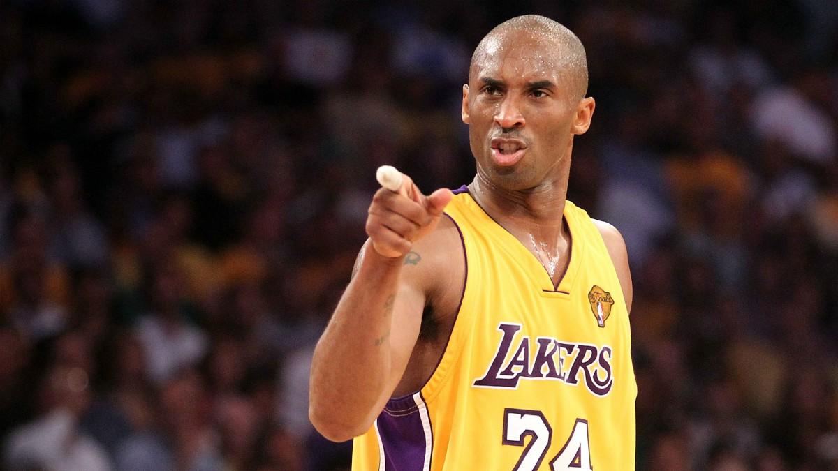 Kobe Bryant, durante un partido. (Getty)