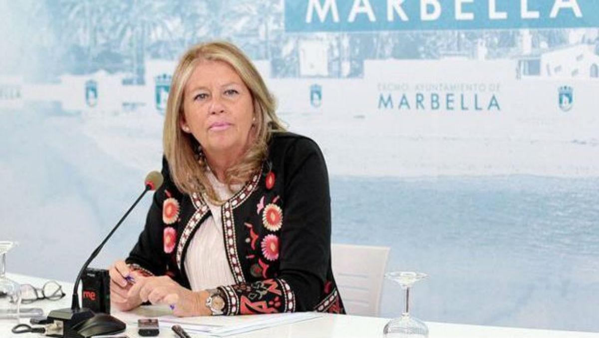 La alcaldesa de Marbella, Ángeles Muñoz.