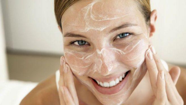 Exfoliante facial casero