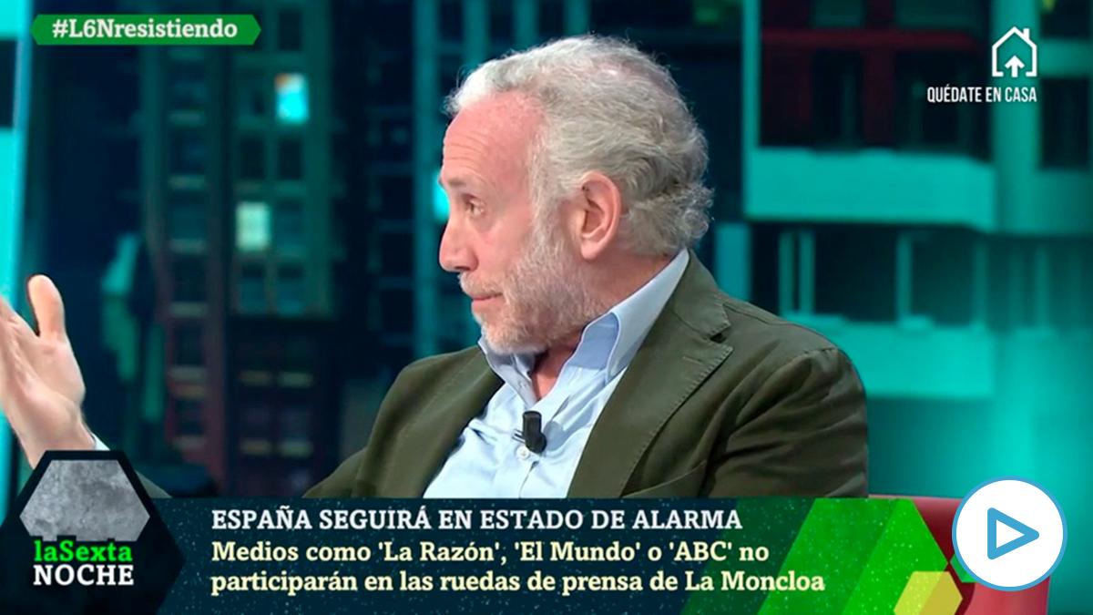 "Eduardo Inda:""OKDIARIO no va a participar en las ruedas de prensa farsa censuradas de Pedro Sánchez"""