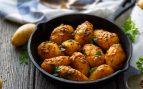 Receta de patatas al curry con huevo