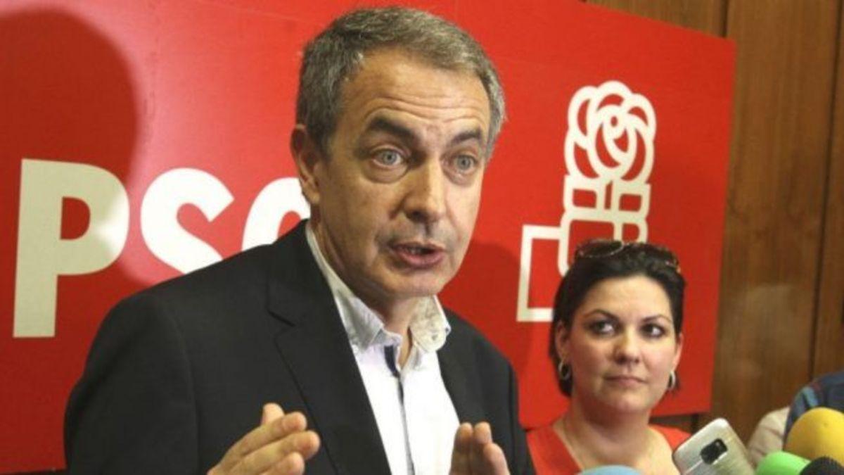 El ex presidente del Gobierno José Luis Rodríguez Zapatero en una imagen de archivo