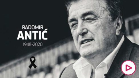 Radomir Antic. (Atlético de Madrid)