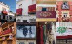 Balcones de Sevilla esta Semana Santa 2020.