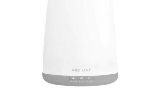Un deshumidificador es un aparato que mitiga y reduce la humedad .