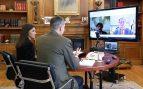 Felipe VI se vuelca con las empresas ante el fuerte parón de la economía y la amenaza de recesión