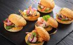 Receta de hamburguesa de marisco