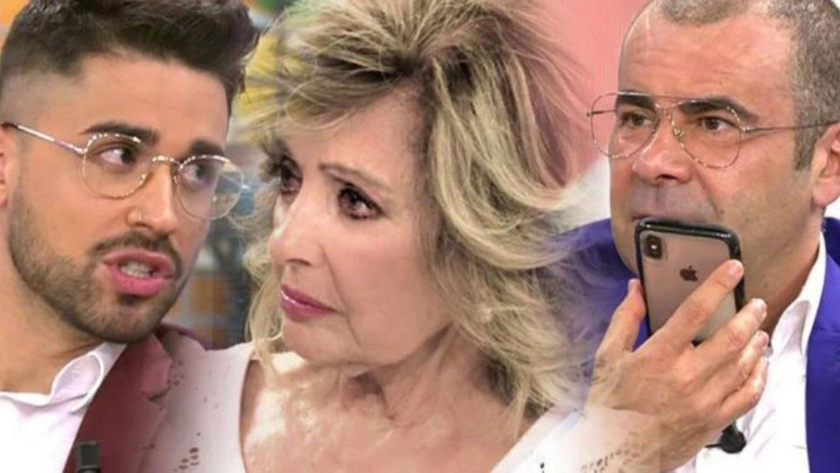 María Teresa Campos indignada con 'Sálvame'