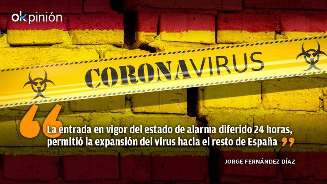 La gestión de la pandemia