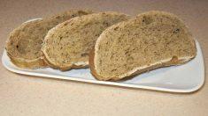 Receta de pan integral de ajo