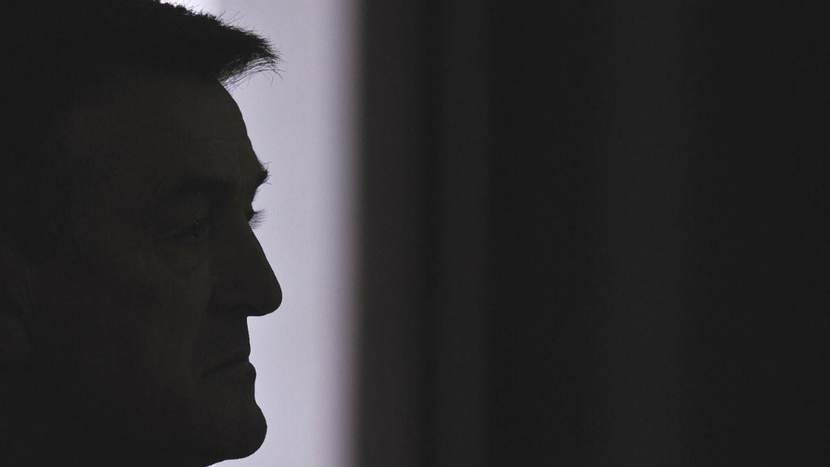 Radomir Antic, en una rueda de prensa. (AFP)