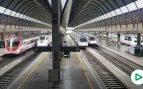 OKDIARIO viaja en tren de Madrid a Sevilla: estaciones y trenes prácticamente vacíos