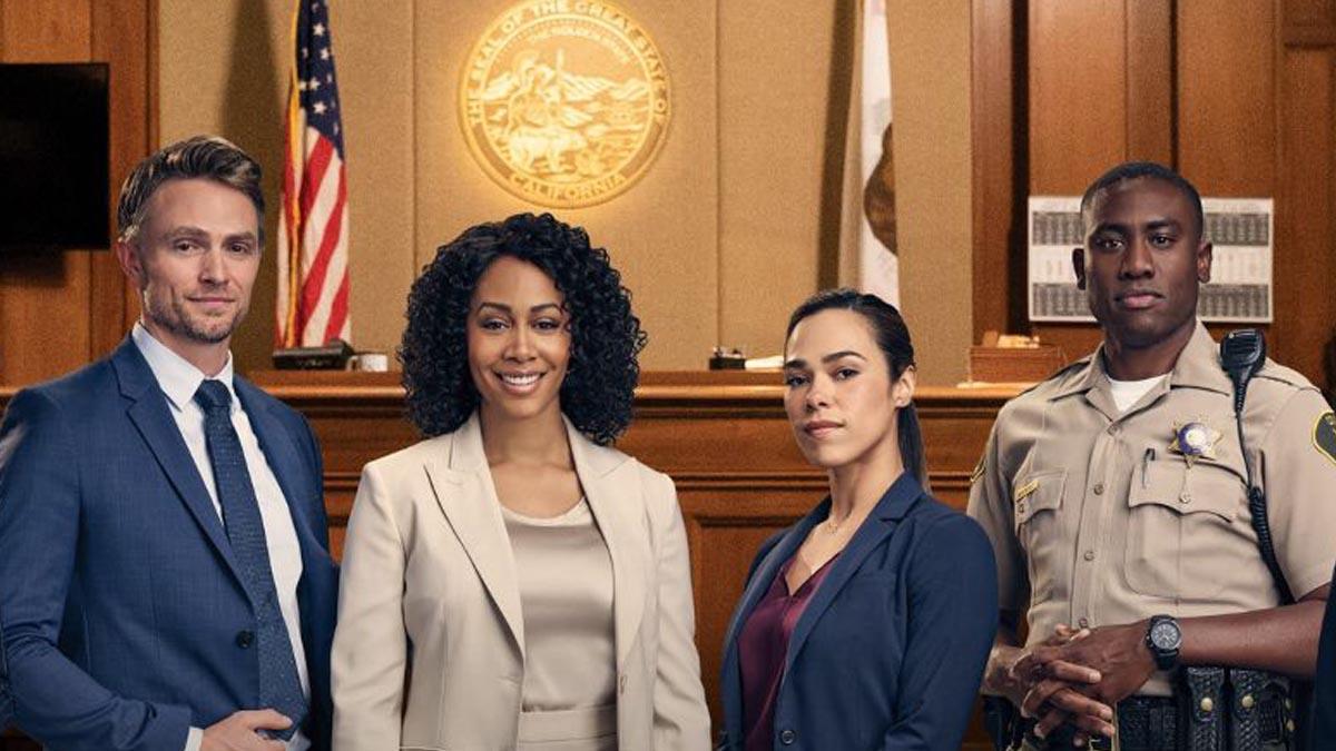 Una imagen promocional de 'All Rise', la serie de TV que grabará el primer episodio con los actores en casa.