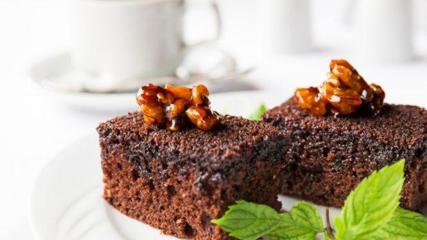 Receta de bizcocho de chocolate con dos ingredientes