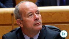 El ministro de Justicia, Juan Carlos Campo, en el Senado. (Foto. PSOE)