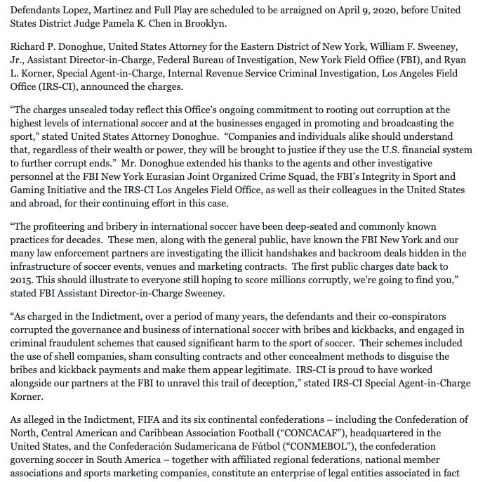 La Justicia de Nueva York procesa a la mano derecha de Roures en Mediapro por sobornar a directivos de la FIFA