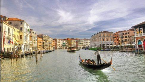 Gran canal de la ciudad de Venecia @Getty