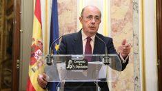 El vicepresidente cuarto del Congreso y diputado de Vox, Ignacio Gil Lázaro. (Foto: EP)