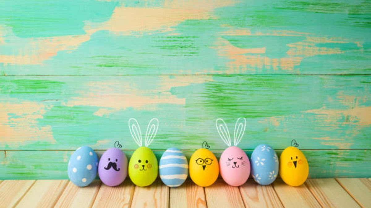 Ideas de manualidades para Pascua y para niños de preescolar