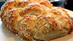 Receta de Trenza suiza de pan de leche