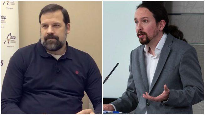 Alfonso Reyes y Pablo Iglesias, en imágenes de archivo.