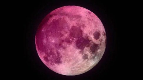 La superluna rosa, ¿por qué se produce este fenómeno?