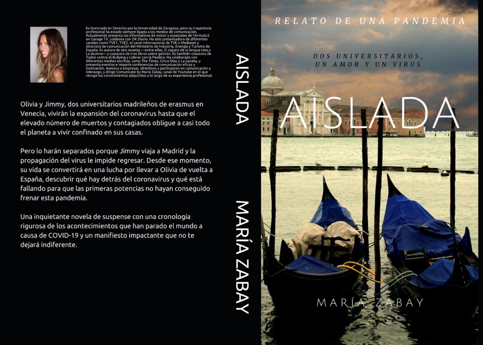 'Aislada': la historia de amor y suspense de una pareja española sorprendida en Venecia por el COVID-19