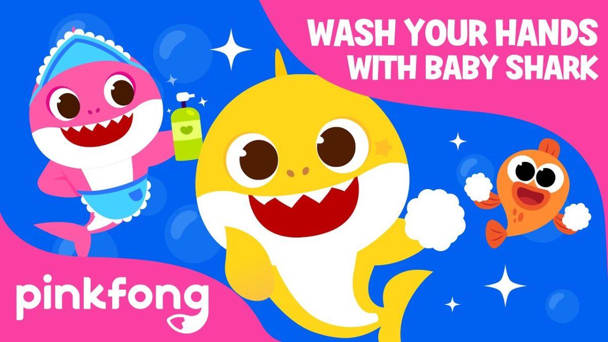 Descubre la nueva letra de «Baby Shark» para aprender a lavarse bien las manos