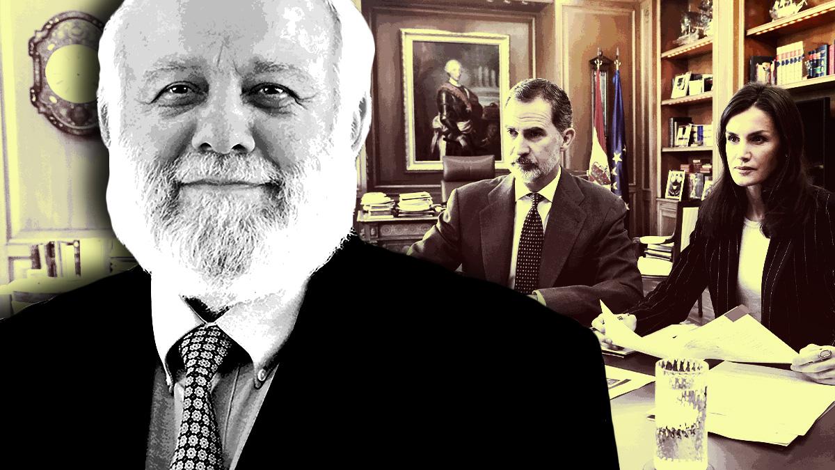 Los Reyes dan el pésame al presidente de la Comisión Islámica de España Riay Tatary.