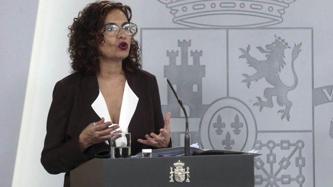 La portavoz del Gobierno María Jesús Montero