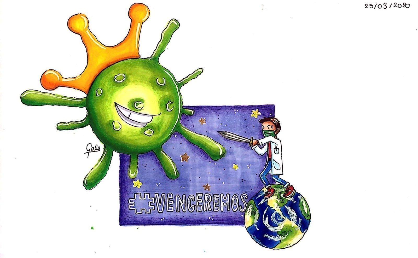 Gala, la valiente española de 13 años a la que la crisis del coronavirus sorprendió en los Alpes franceses