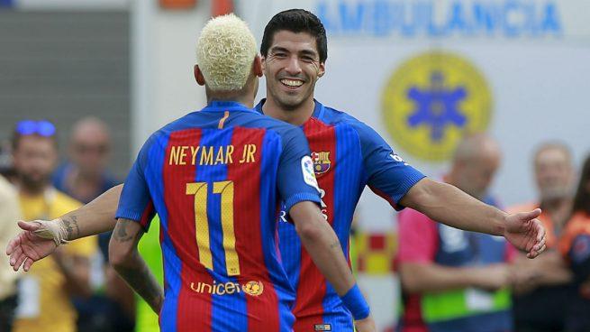 Luis Suárez: «Neymar siempre será bienvenido en el vestuario»