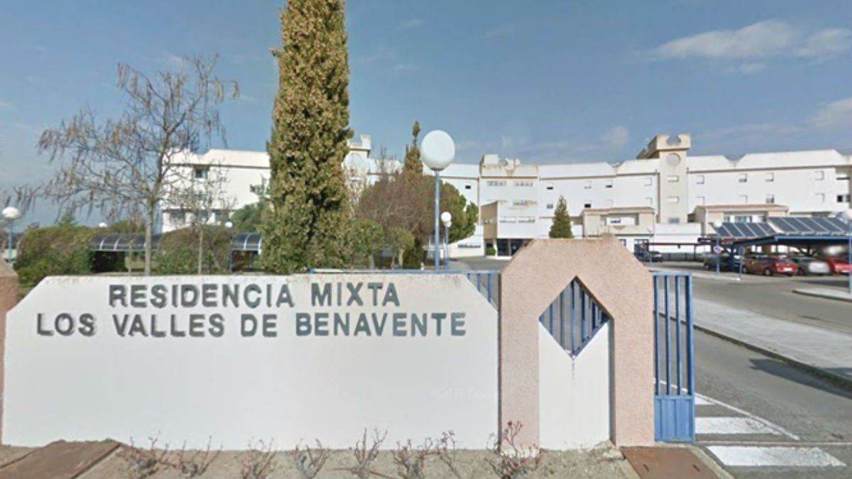 Imagen de archivo de la residencia mixta para mayores de los Valles de Benavente (Zamora).