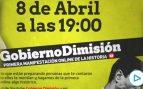 Pedro Sánchez: Gran manifestación virtual #GobiernoDimisión por el coronavirus, streaming en directo