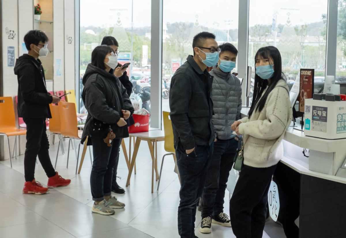 Móviles desaparecidos en China coronavirus