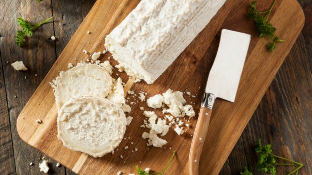 Receta de montaditos de higos con crema de queso de cabra