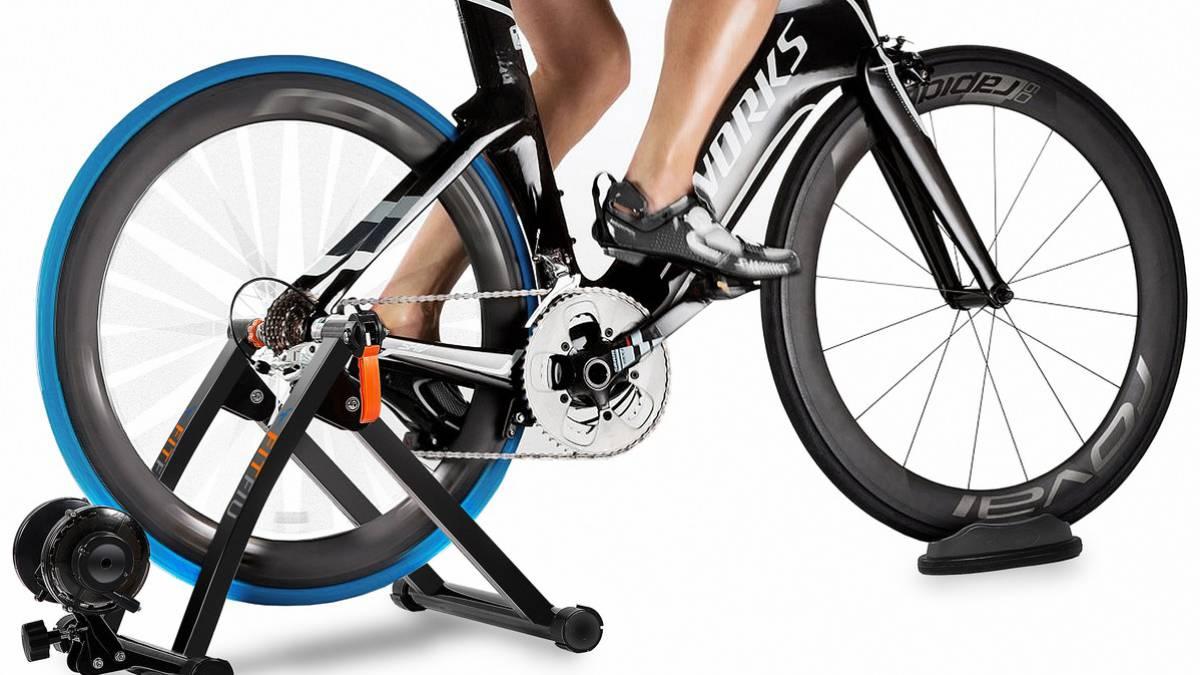 Los rodillos para bicicleta te permiten utilizar cualquier bici en casa