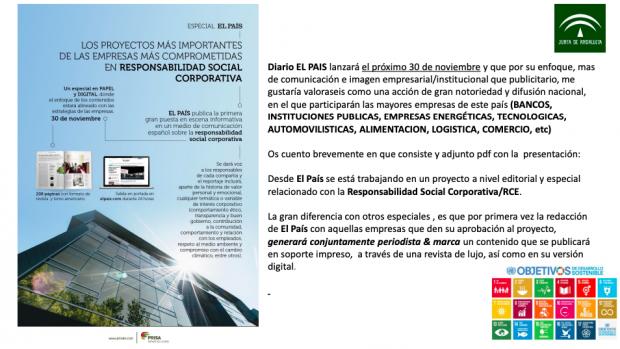 La Junta socialista usó a El País durante casi una década como medio para sus publirreportajes
