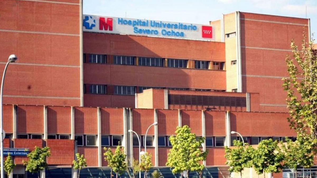 El hospital universitario Severo Ochoa de Leganés (Madrid).