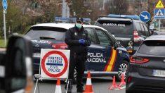 Controles policiales para evitar el movimiento