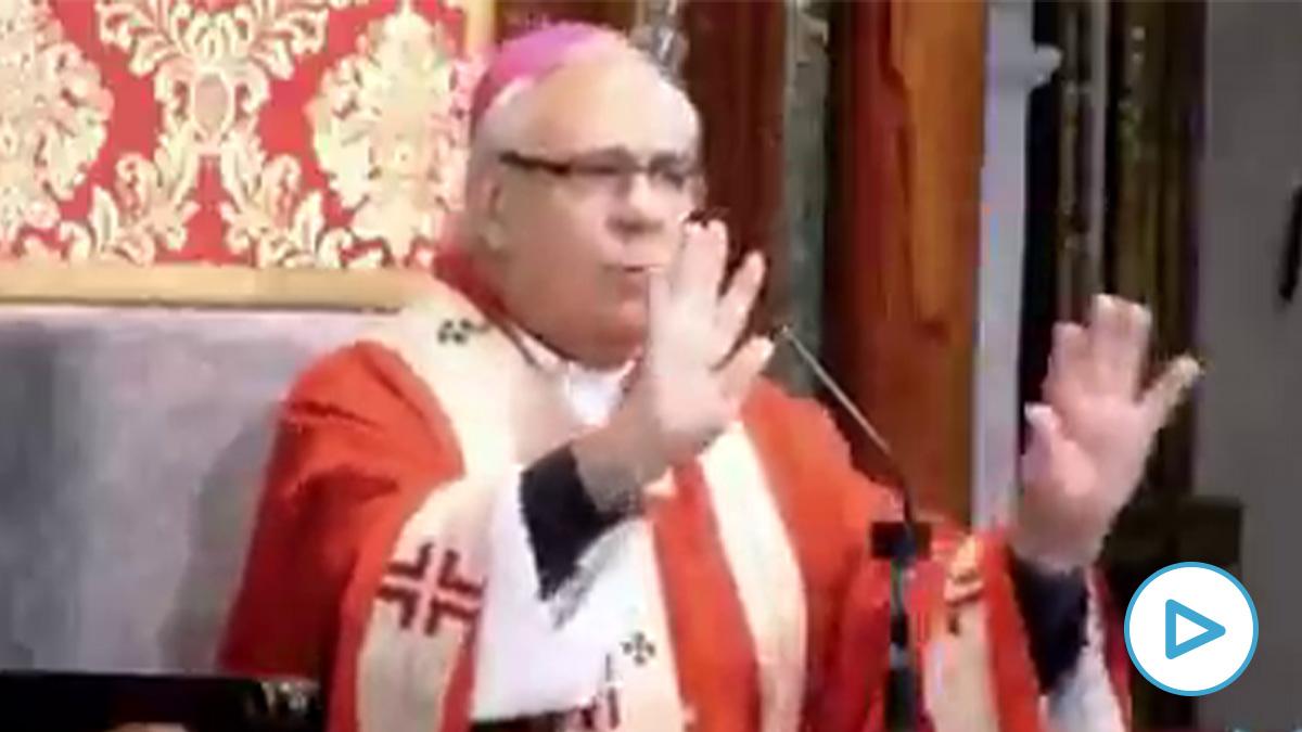 Arzobispo, tranquilizando a sus fieles.
