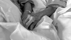 Las manos de Antonio y Antonia entrelazadas @RedesSociales