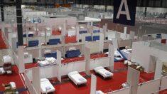 El hospital de campaña en IFEMA alberga más de 5.500 camas.