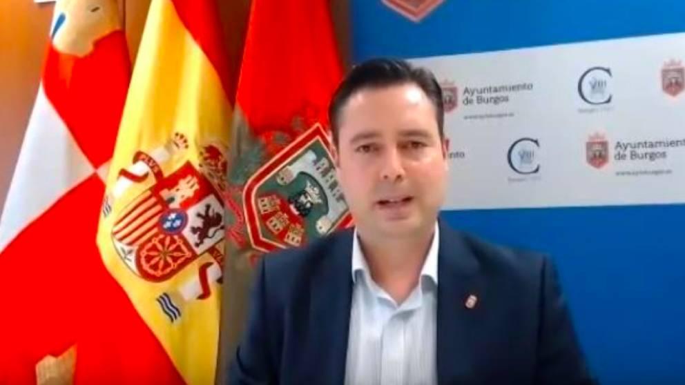 Daniel de la Rosa, alcalde de Burgos